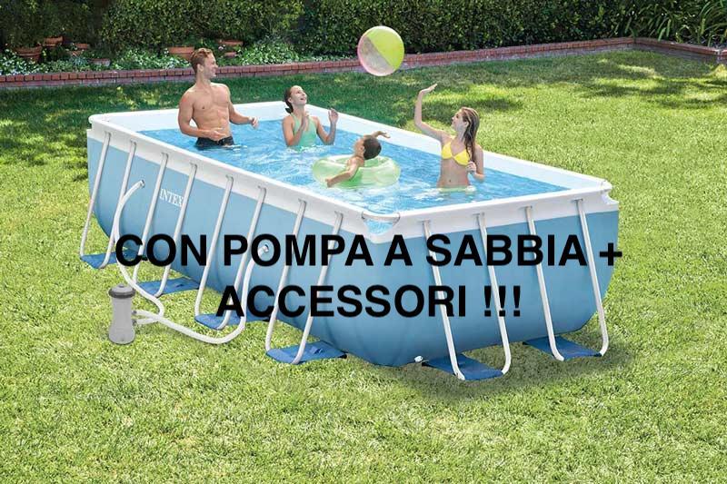 Piscina Prisma Rettangolare 28316 26776 Cm 400x200x100